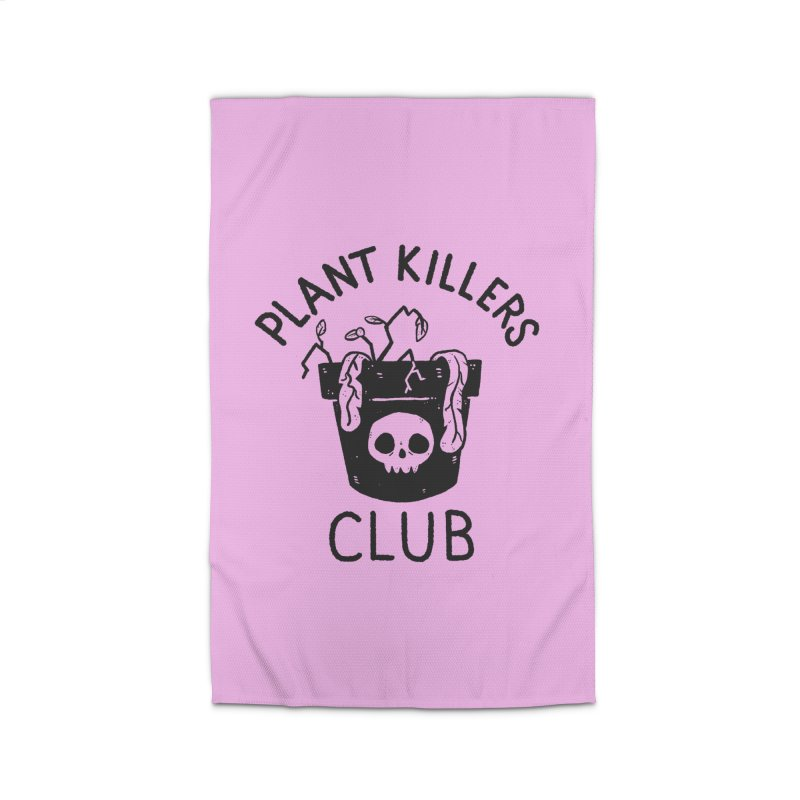 Plant Killers Club Home Rug by Luis Romero Shop