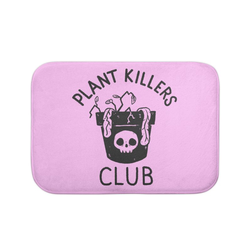Plant Killers Club Home Bath Mat by Luis Romero Shop