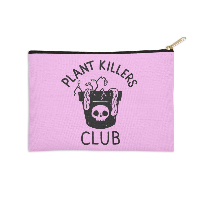 Plant Killers Club Accessories Zip Pouch by Luis Romero Shop