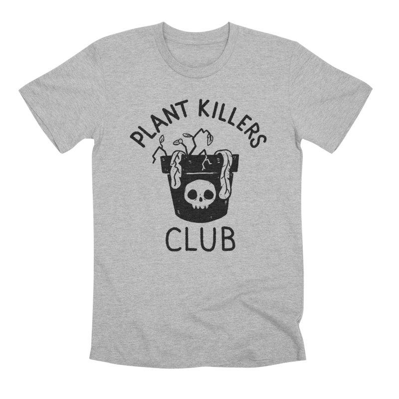 Plant Killers Club Men's Premium T-Shirt by Luis Romero Shop