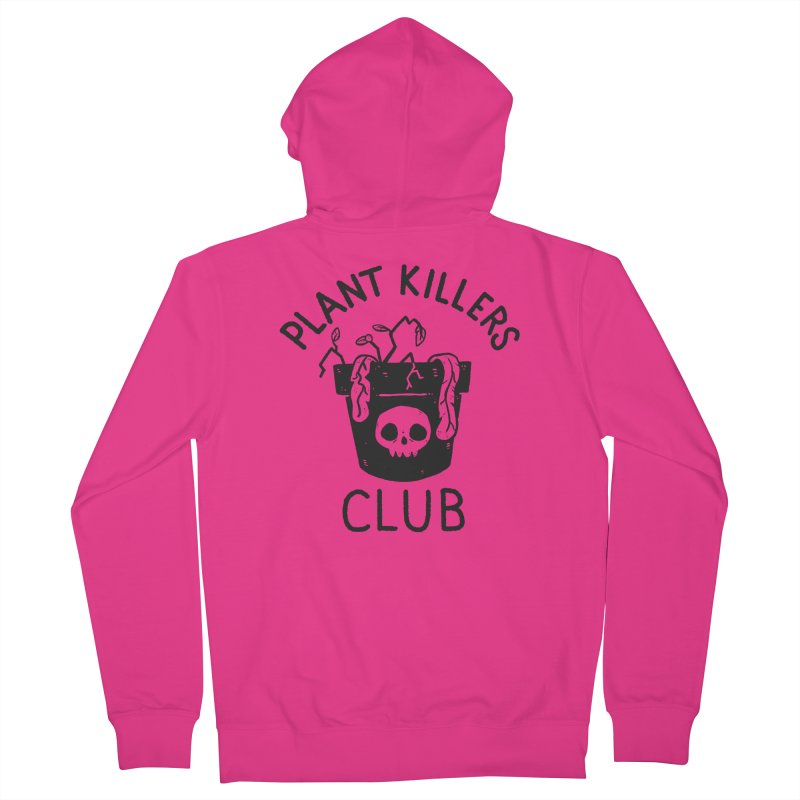 Plant Killers Club Men's French Terry Zip-Up Hoody by Luis Romero Shop