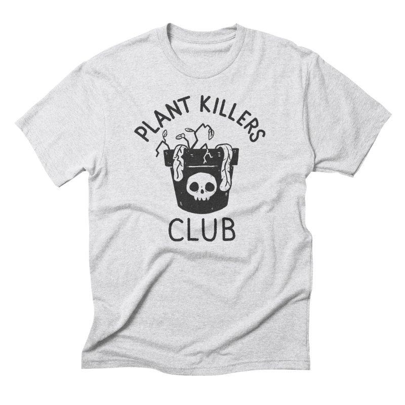 Plant Killers Club Men's Triblend T-Shirt by Luis Romero Shop