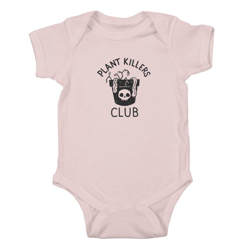 Plant Killers Club Kids Baby Bodysuit by Luis Romero Shop