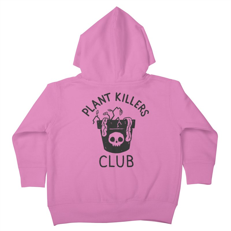Plant Killers Club Kids Toddler Zip-Up Hoody by Luis Romero Shop