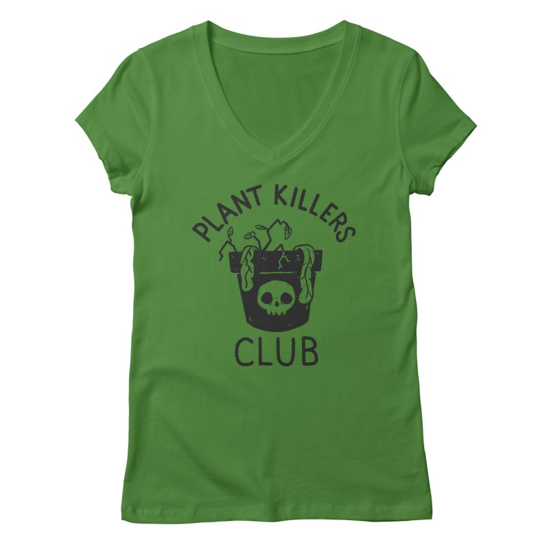Plant Killers Club Women's Regular V-Neck by Luis Romero Shop