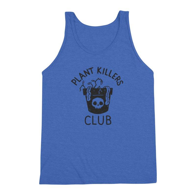 Plant Killers Club Men's Triblend Tank by Luis Romero Shop