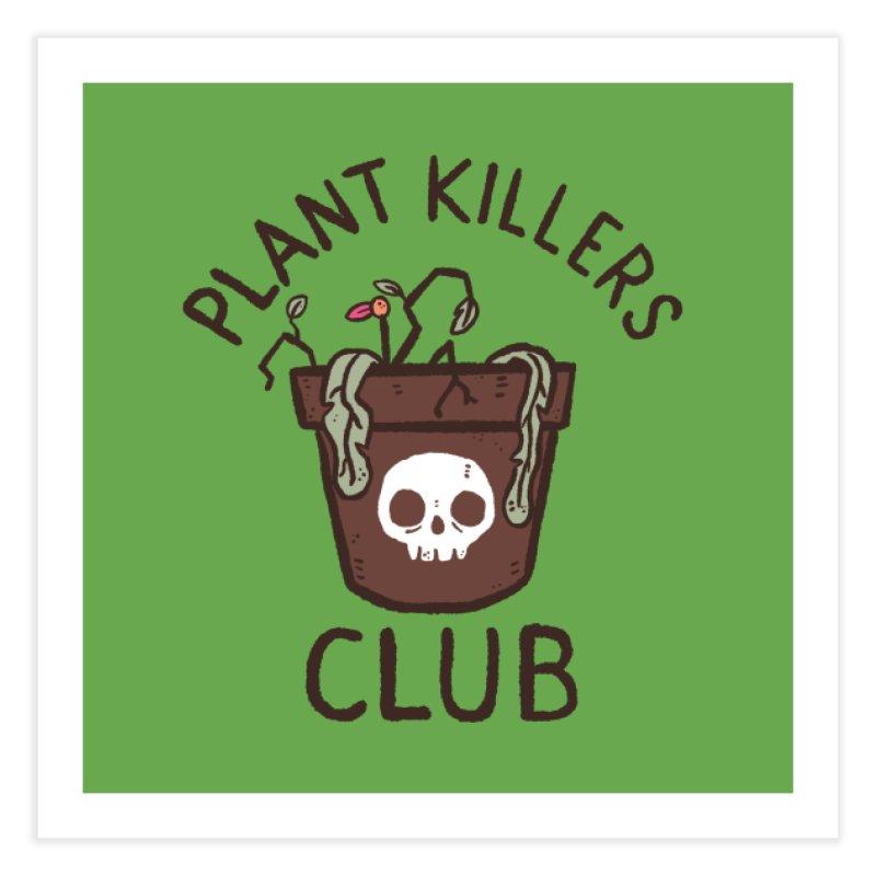 Plant Killers Club (Color) Home Fine Art Print by Luis Romero Shop