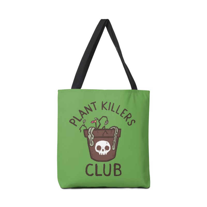 Plant Killers Club (Color) Accessories Tote Bag Bag by Luis Romero Shop