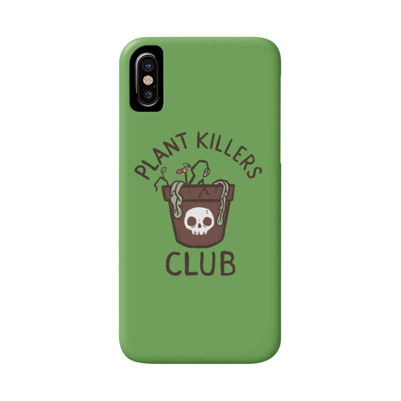 Plant Killers Club (Color) Accessories Phone Case by Luis Romero