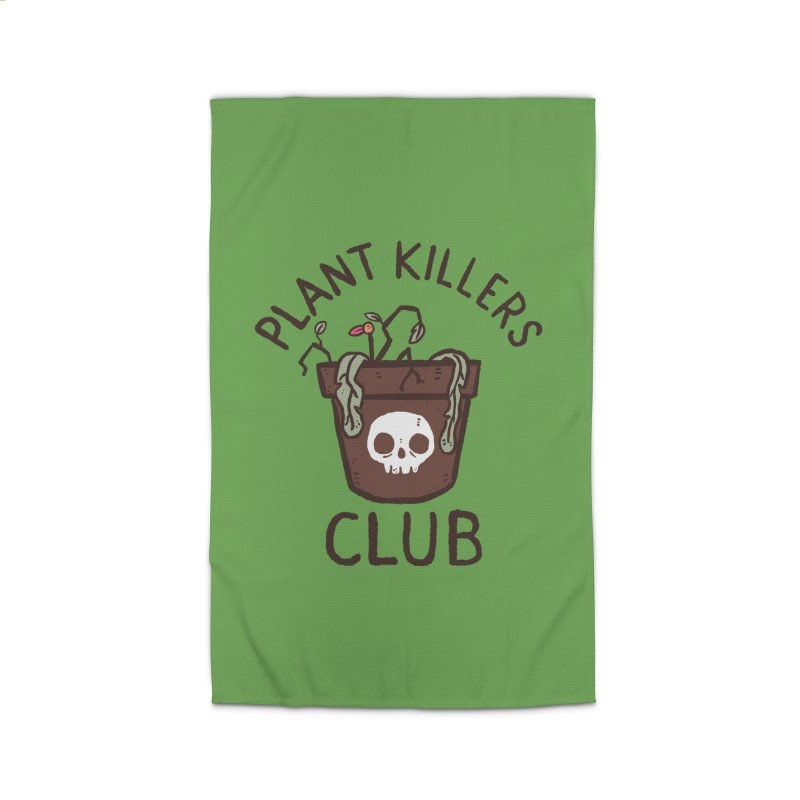 Plant Killers Club (Color) Home Rug by Luis Romero Shop