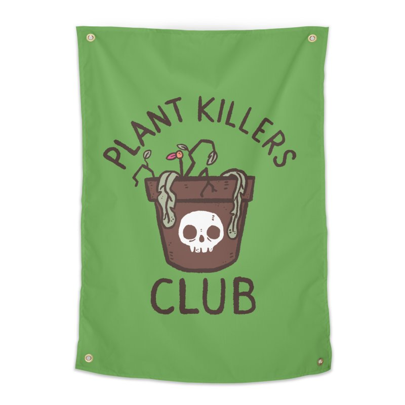 Plant Killers Club (Color) Home Tapestry by Luis Romero Shop