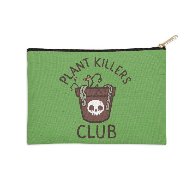Plant Killers Club (Color) Accessories Zip Pouch by Luis Romero Shop
