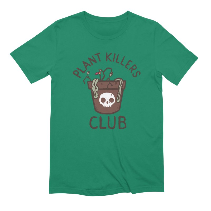 Plant Killers Club (Color) Men's Extra Soft T-Shirt by Luis Romero Shop