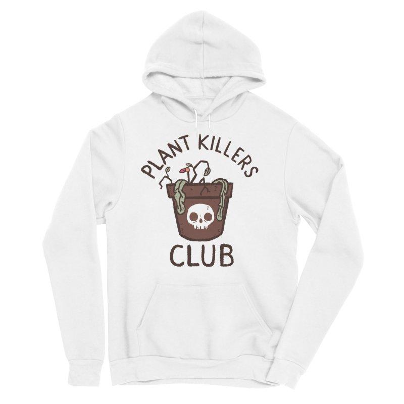 Plant Killers Club (Color) Men's Sponge Fleece Pullover Hoody by Luis Romero Shop