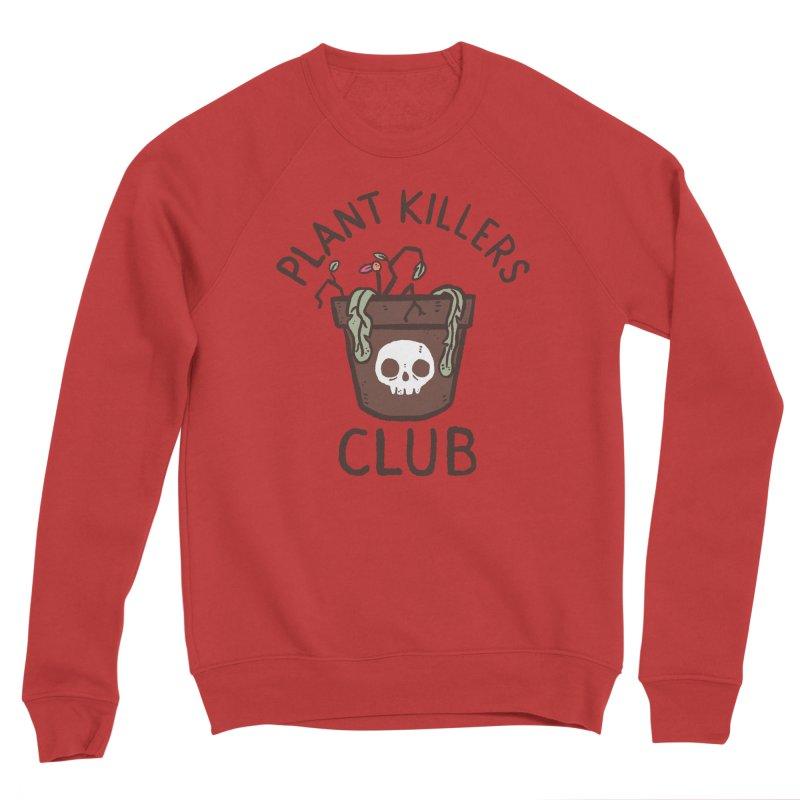 Plant Killers Club (Color) Men's Sponge Fleece Sweatshirt by Luis Romero Shop