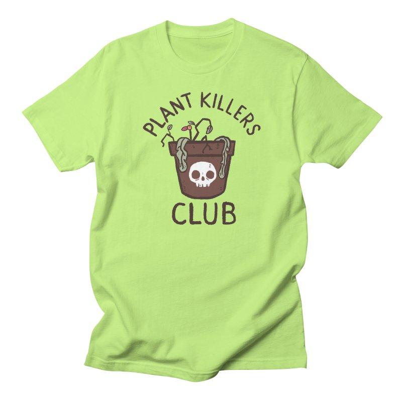 Plant Killers Club (Color) Women's Regular Unisex T-Shirt by Luis Romero Shop