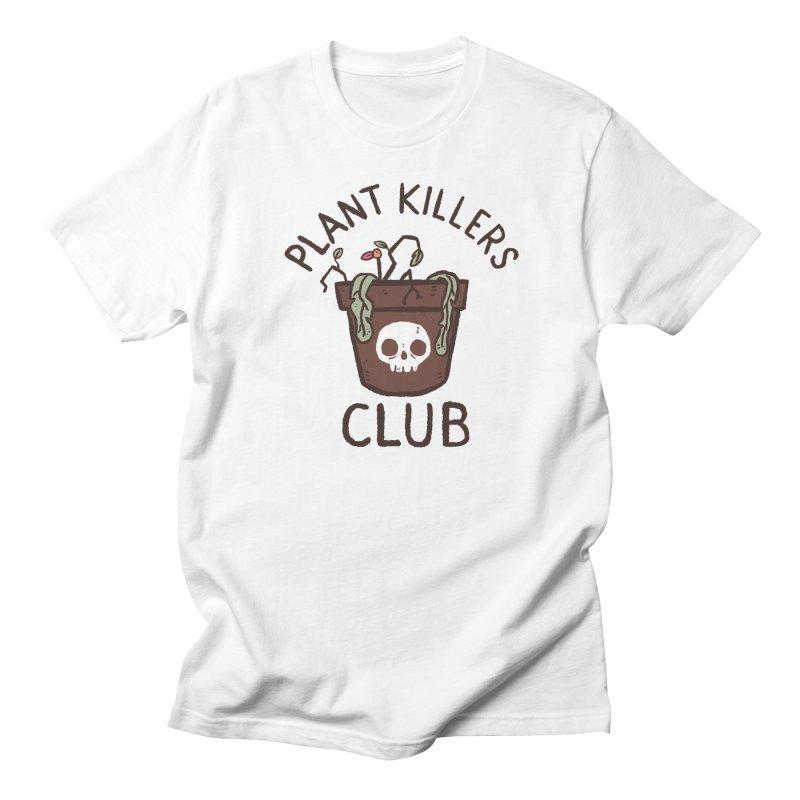 Plant Killers Club (Color) Men's Regular T-Shirt by Luis Romero Shop