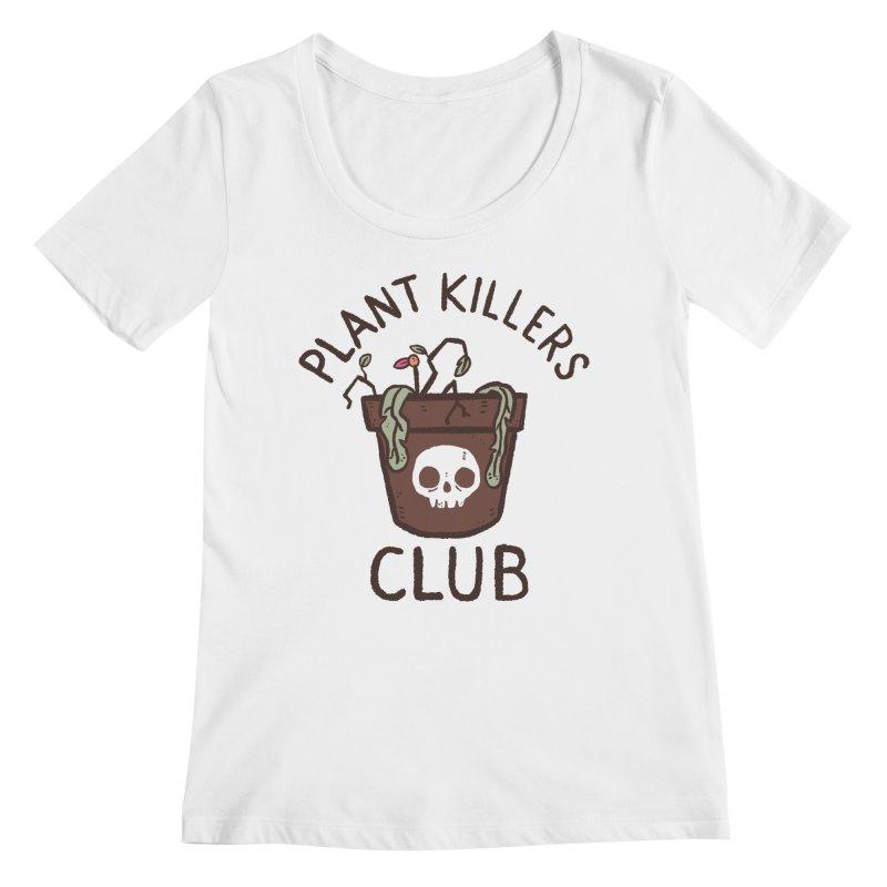 Plant Killers Club (Color) Women's Regular Scoop Neck by Luis Romero Shop