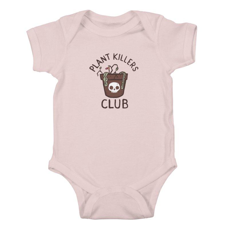 Plant Killers Club (Color) Kids Baby Bodysuit by Luis Romero Shop