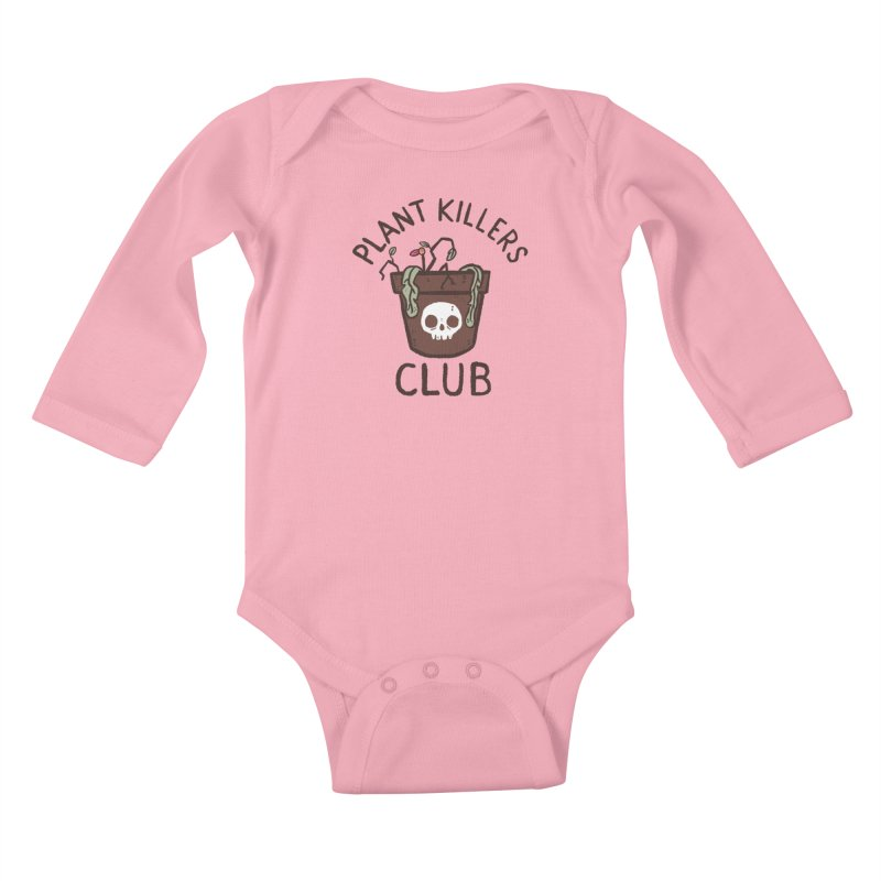 Plant Killers Club (Color) Kids Baby Longsleeve Bodysuit by Luis Romero Shop