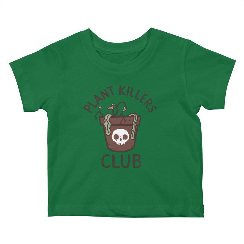 Plant Killers Club (Color) Kids Baby T-Shirt by Luis Romero Shop