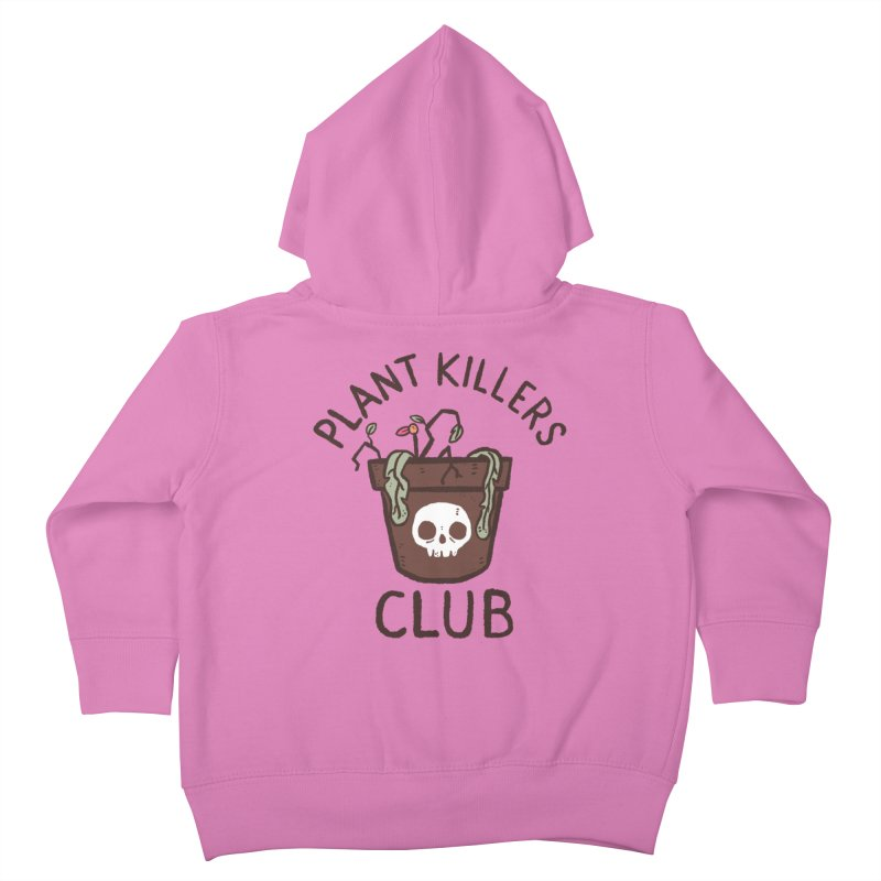 Plant Killers Club (Color) Kids Toddler Zip-Up Hoody by Luis Romero Shop