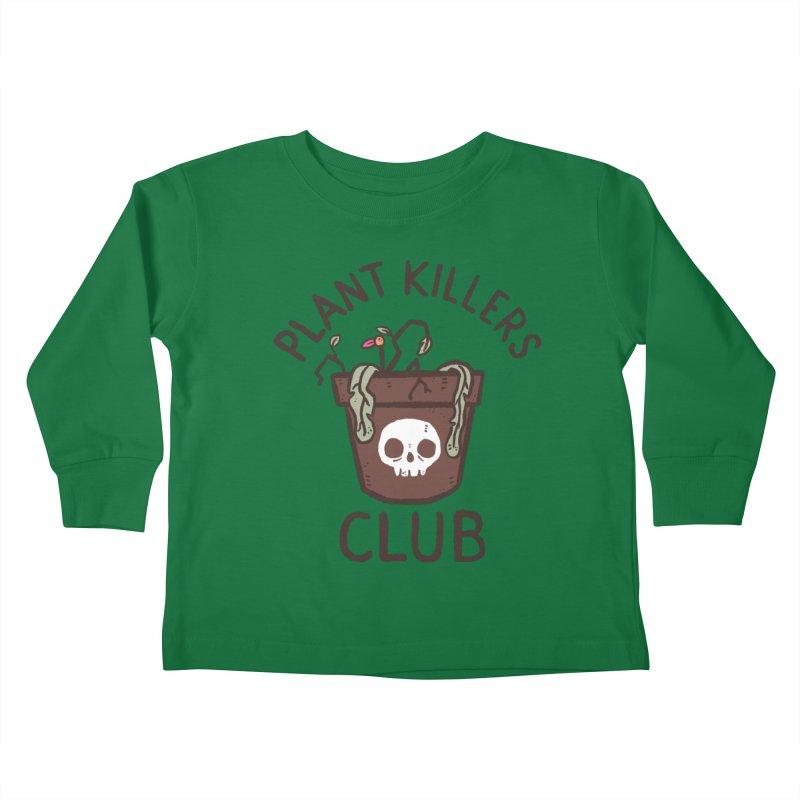 Plant Killers Club (Color) Kids Toddler Longsleeve T-Shirt by Luis Romero Shop