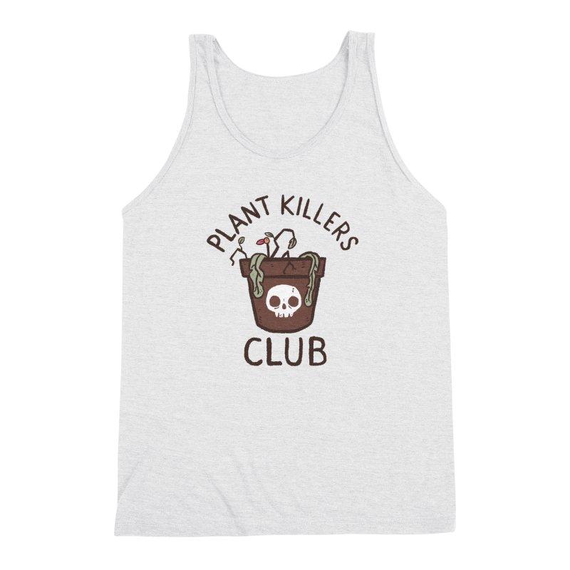 Plant Killers Club (Color) Men's Triblend Tank by Luis Romero Shop