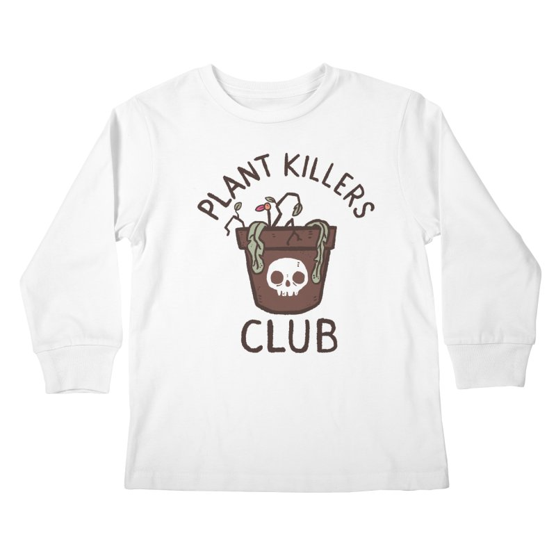 Plant Killers Club (Color) Kids Longsleeve T-Shirt by Luis Romero Shop