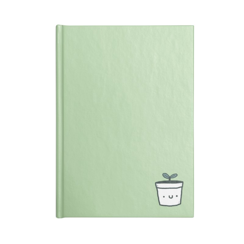 Plant Accessories Blank Journal Notebook by Luis Romero Shop