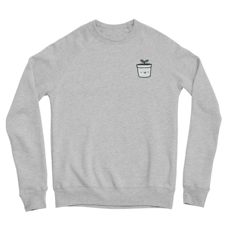 Plant Women's Sponge Fleece Sweatshirt by Luis Romero Shop