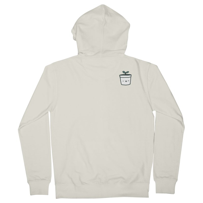 Plant Men's French Terry Zip-Up Hoody by Luis Romero Shop