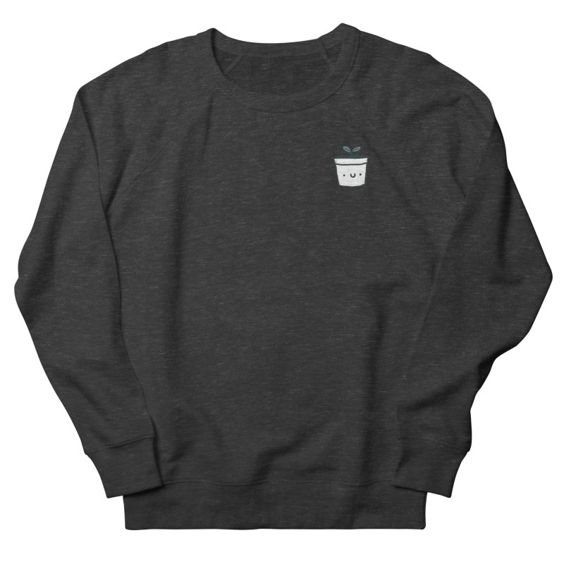 Plant Women's French Terry Sweatshirt by Luis Romero Shop