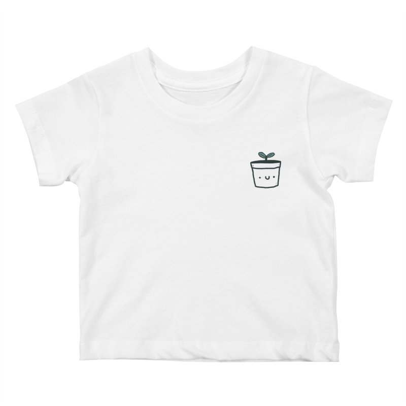 Plant Kids Baby T-Shirt by Luis Romero Shop