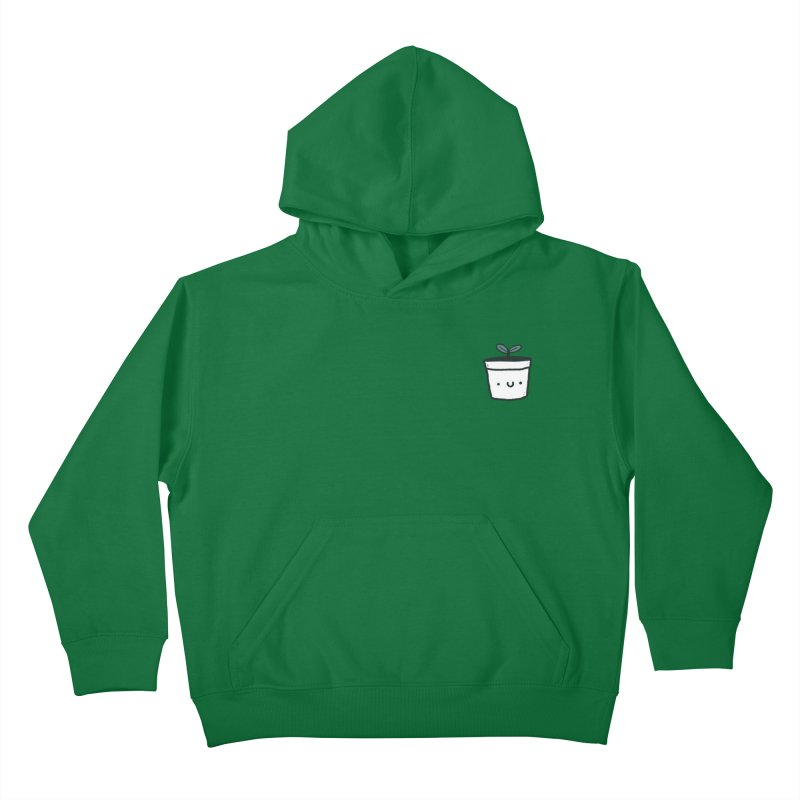 Plant Kids Pullover Hoody by Luis Romero Shop
