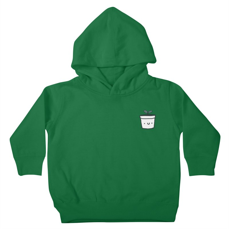 Plant Kids Toddler Pullover Hoody by Luis Romero Shop