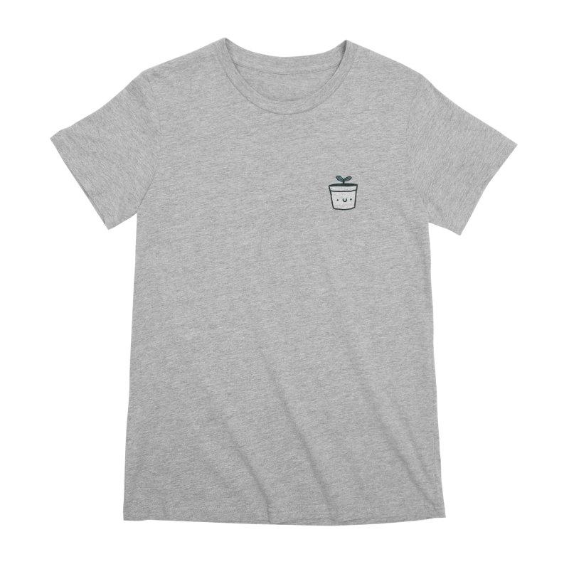 Plant Women's Premium T-Shirt by Luis Romero Shop