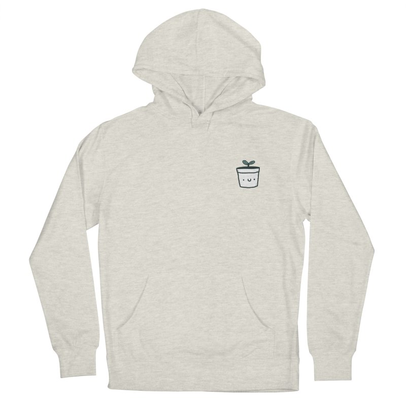 Plant Women's French Terry Pullover Hoody by Luis Romero Shop