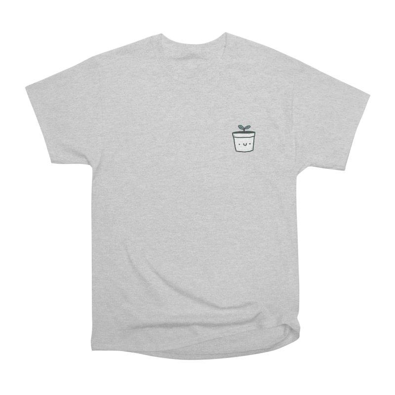 Plant Women's Heavyweight Unisex T-Shirt by Luis Romero Shop