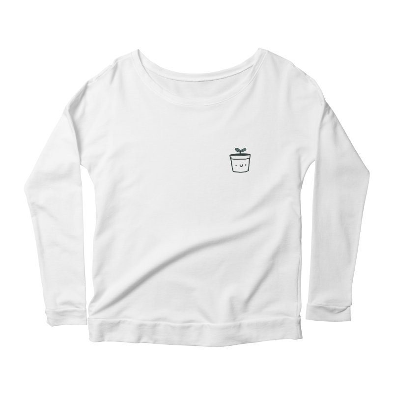 Plant Women's Scoop Neck Longsleeve T-Shirt by Luis Romero Shop