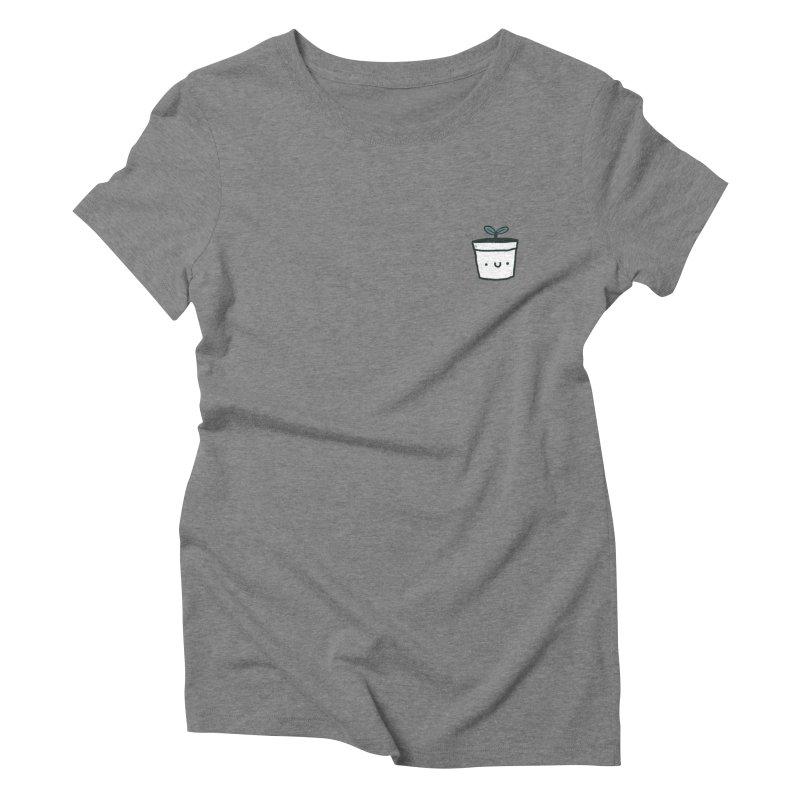 Plant Women's Triblend T-Shirt by Luis Romero Shop