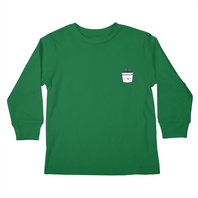Plant Kids Longsleeve T-Shirt by Luis Romero Shop