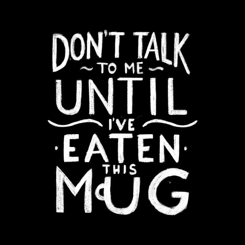 Don't Talk To Me (White) by Luis Romero Shop