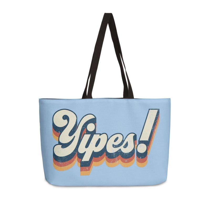 Yipes! Accessories Weekender Bag Bag by Luis Romero Shop