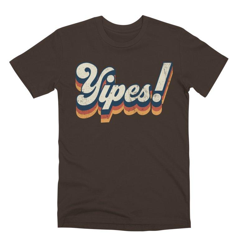 Yipes! Men's Premium T-Shirt by Luis Romero Shop