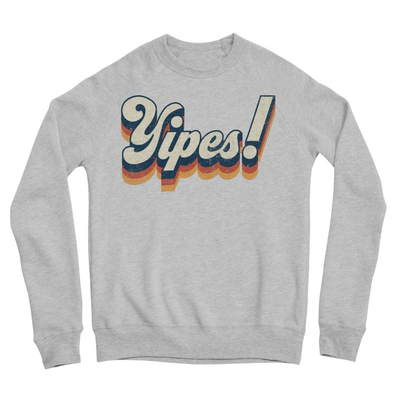 Yipes! Men's Sponge Fleece Sweatshirt by Luis Romero Shop
