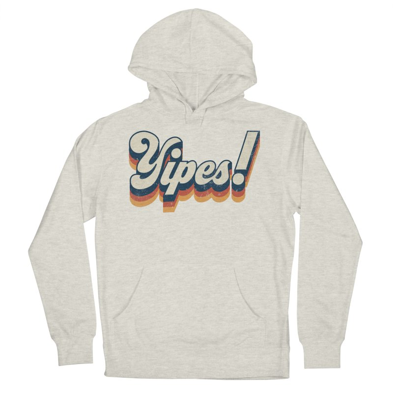 Yipes! Men's French Terry Pullover Hoody by Luis Romero Shop