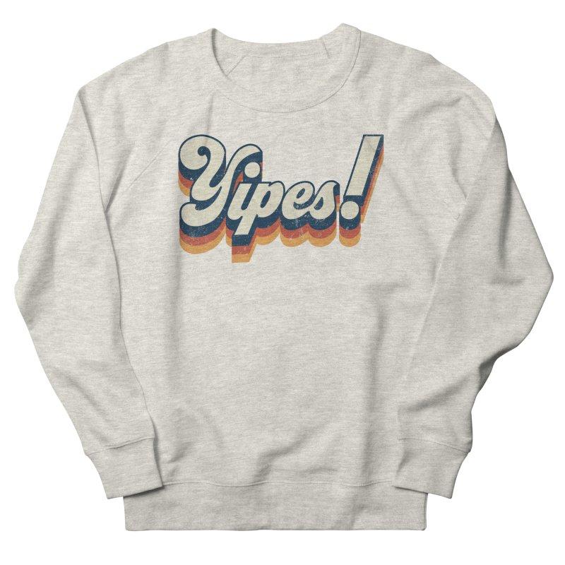 Yipes! Men's French Terry Sweatshirt by Luis Romero Shop