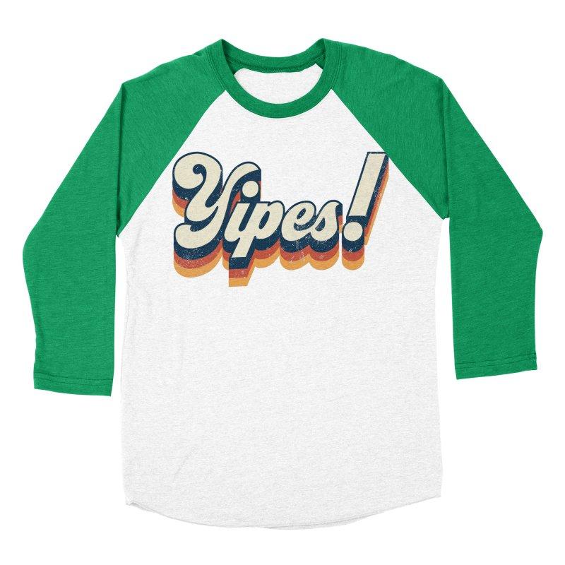 Yipes! Women's Baseball Triblend Longsleeve T-Shirt by Luis Romero Shop