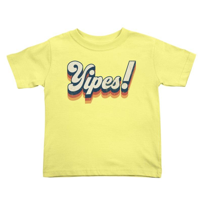 Yipes! Kids Toddler T-Shirt by Luis Romero Shop